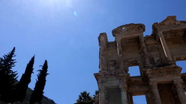 Bibliothek des Celsus in Ephesus antike Stadt