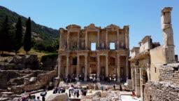 Library of Celsus in Ephesus, Izmir