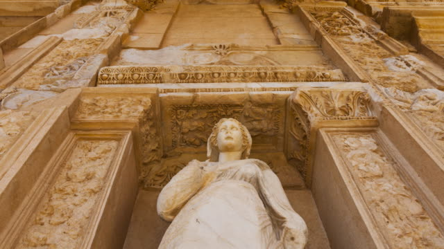 Library of Celsus in Ephesus, Selçuk village, Izmir Region, Turkey