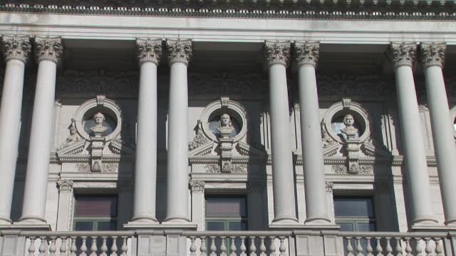 cu, zi, library of congress building, washington, dc, washington, usa - 新古典派点の映像素材/bロール