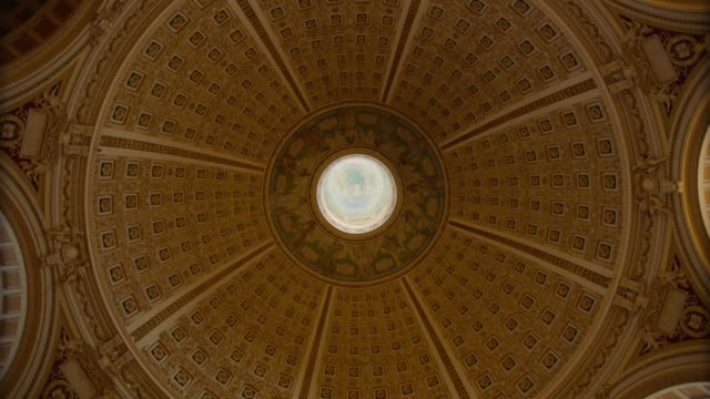library of congress dome - united states congress stock-videos und b-roll-filmmaterial