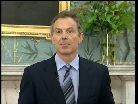 Libya announces end to weapons programme 2300 U'LAY Blair statement Durham Tony Blair MP speech SOT This evening Colonel Khadafi has confirmed that...