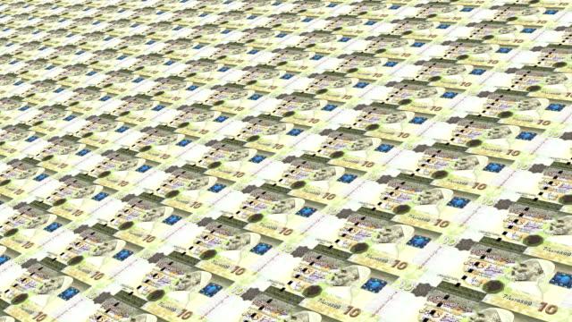libyan dinar notes - dinar stock videos & royalty-free footage