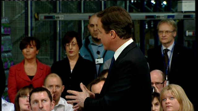 cameron and clegg attend pm direct session in nottingham david cameron mp qa sot under the un mandate we are allowed to do two basic things / we... - things that go together stock videos & royalty-free footage