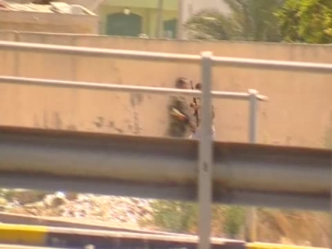 libyan rebels fight gaddafi's forces in zawiya august 2011 - az zawiyah stock videos & royalty-free footage