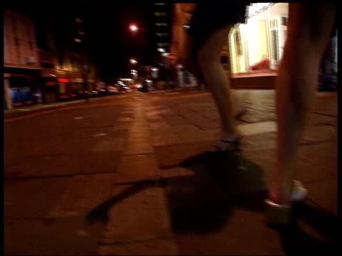 Fears over 24 hour drinking FILE / Date Unknown Location Unknown Legs of drunken women along in street / BV drunken people along street at night