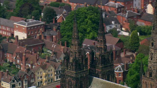 lichfield cathedral - lichfield stock videos & royalty-free footage