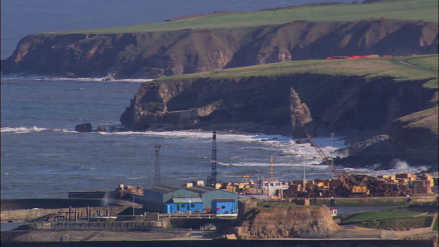stockvideo's en b-roll-footage met liddle stack by seaham - county durham engeland