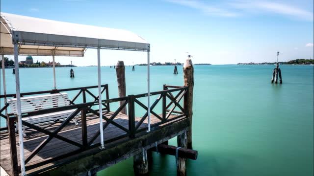 lido di venezia time lapse - lido stock videos & royalty-free footage