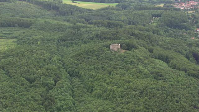liebenstein castle - turingia video stock e b–roll