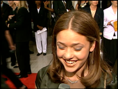Liesel Matthews at the 'Air Force One' Premiere on July 21 1997