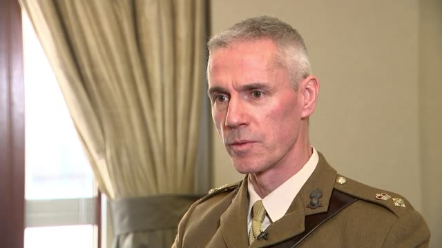 Lieutenant Colonel Craig Palmer to be honoured at The Sun Military Awards for his bravery during Parsons Green terror attack ENGLAND London INT...