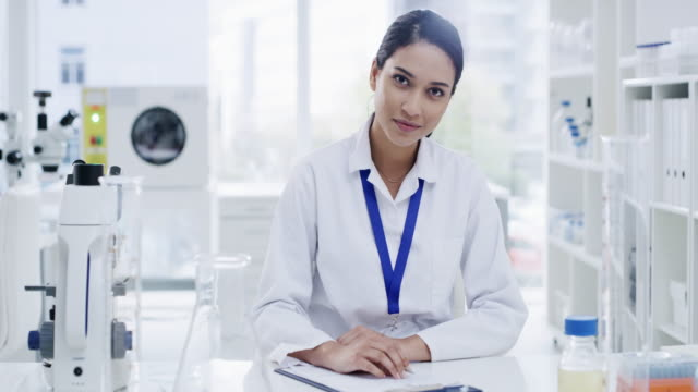life happens in a lab - female doctor stock videos & royalty-free footage
