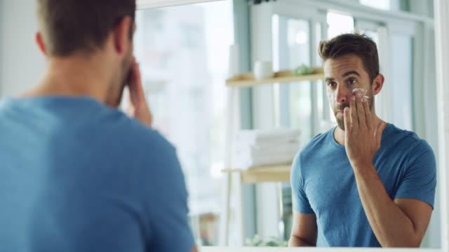 life happens, moisturiser helps - caucasian appearance stock videos & royalty-free footage