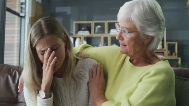 life happens, mom's help - consoling stock videos & royalty-free footage