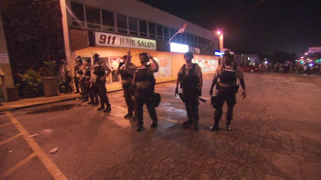 life in ferguson one year after the death of michael brown on august 12 2015 in ferguson missouri - missouri stock videos & royalty-free footage
