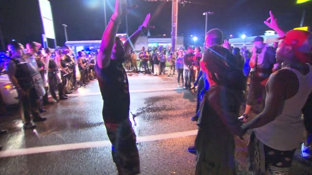 Life in Ferguson one year after the night Michael Brown was shot on August 12 2015 in Ferguson Missouri