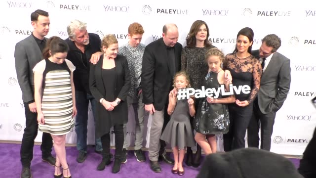 life in pieces cast at the paleylive an evening with life in pieces at the paley center for media in beverly hills at celebrity sightings in los... - paley center for media los angeles stock videos & royalty-free footage
