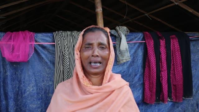 COX'S BAZAR BANGLADESH OCTOBER 11 Life inside new Rohingya at Balukhali makeshift camp in Cox's Bazar Bangladesh on October 11 2017 Bangladesh said...