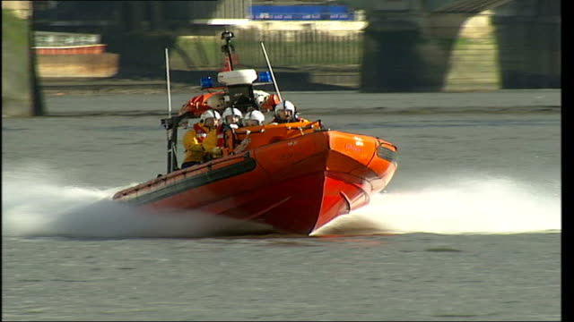 RNLI lifeboat stations on the Thames RNLI Speedboat along