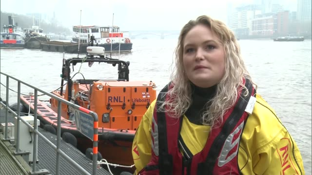 Lifeboat volunteer twins Daisy and Winni Jarvis London RNLI Tower Lifeboat Station Winni Jarvis inteview SOT