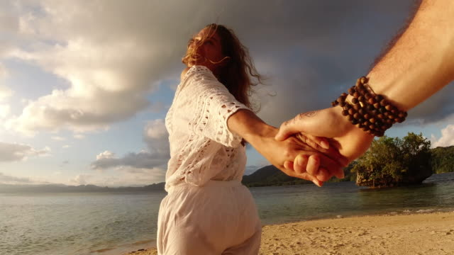 life's a journey best spent in love - holding hands stock videos & royalty-free footage