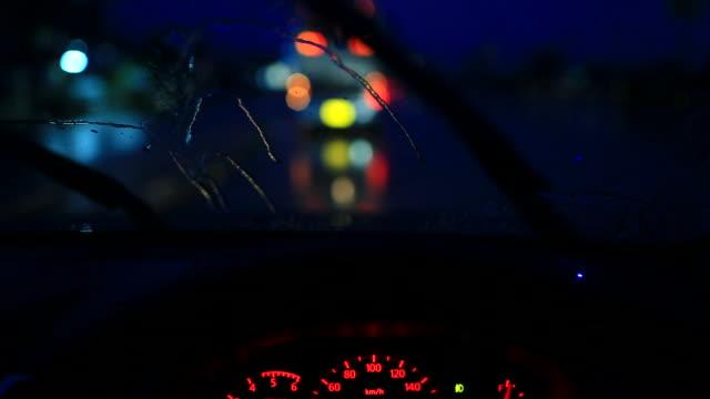 Lifestyle fahren Auto im Regen