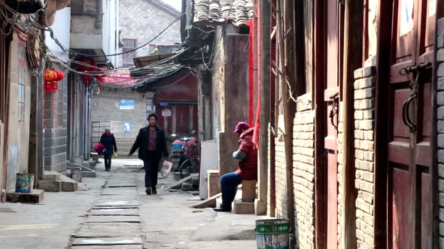 lifestyle in chongren county - china east asia stock videos & royalty-free footage