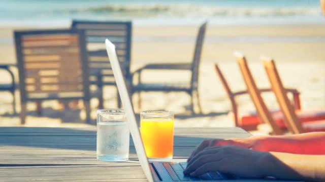 Lifestyle Tech User Enjoying Breakfast