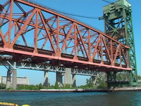 lift bridge 2 - ontario canada stock videos and b-roll footage
