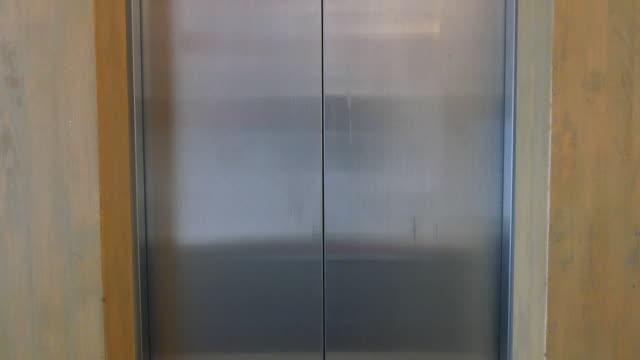 Lift door opening