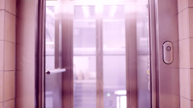 lift doors - alloy stock videos & royalty-free footage