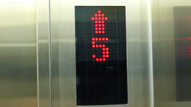 Lift Nummer aufwärts