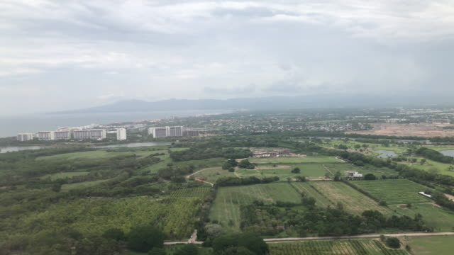 lift off from puerto vallarta airport - airplane part stock videos and b-roll footage