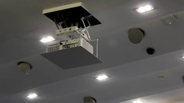 Lift Projector keep on ceiling.part1