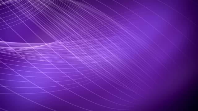 vídeos y material grabado en eventos de stock de fondos púrpura resumen luz loopable - fractal