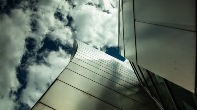 Light and Shadow on Walt Disney Concert Hall - Time Lapse
