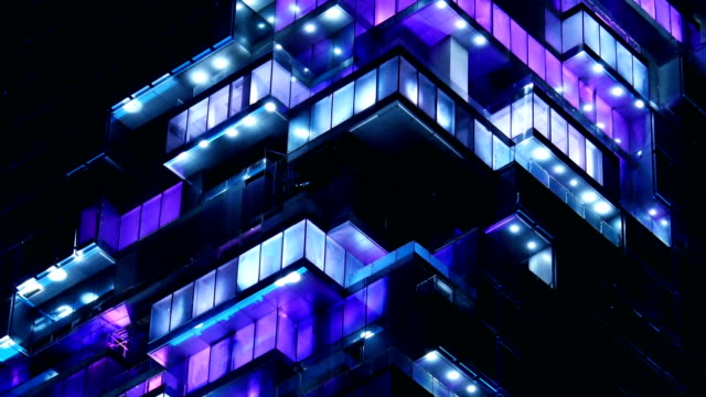 light and sound show on building - tower stock videos & royalty-free footage