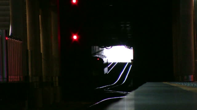 (hd1080i) light at the end of tunnel - light at the end of the tunnel stock videos and b-roll footage