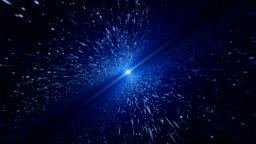 Light Beam, Blue Particle (Loopable)
