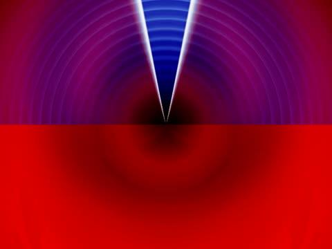 vídeos de stock, filmes e b-roll de light beams passing over circular path - menos de 10 segundos