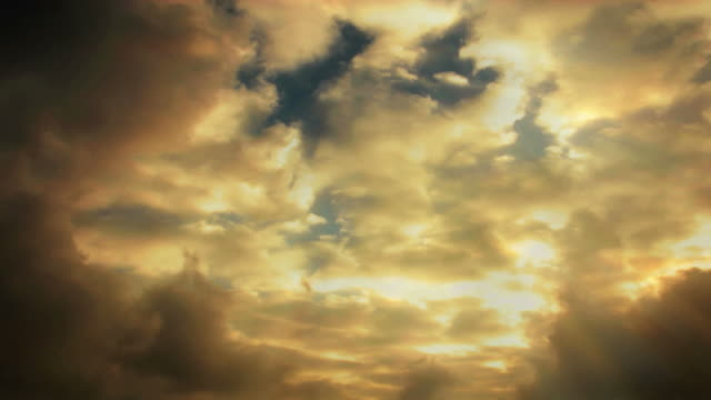 light beams shoot through stormy clouds. - digital enhancement stock videos & royalty-free footage