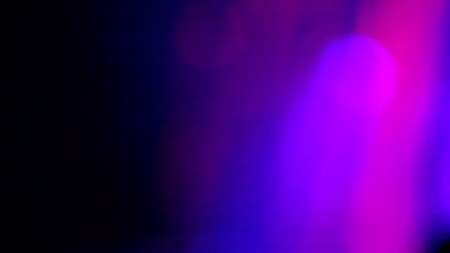Light beams show