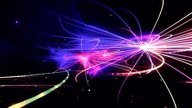 stockvideo's en b-roll-footage met lichtstralen. - laser