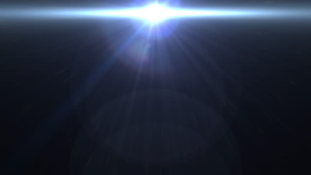 leichte blaue linse flare abstrakten hintergrund - kamera blitzlicht stock-videos und b-roll-filmmaterial