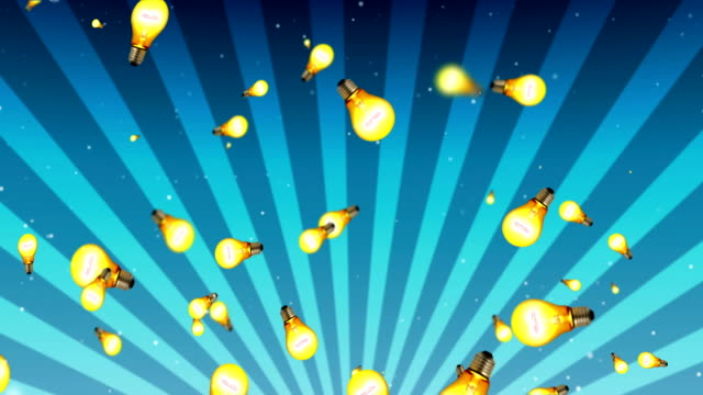 light bulb background - plant bulb stock videos & royalty-free footage