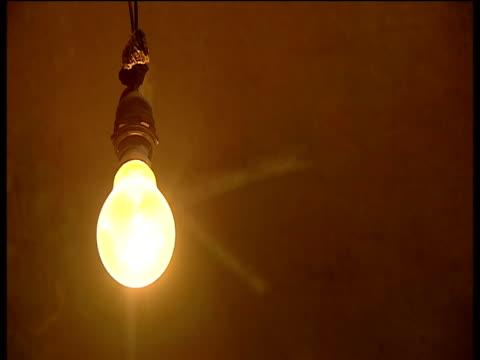 Light bulb goes off