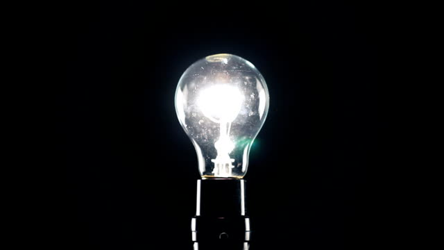 light bulb on dimmer - filament stock videos & royalty-free footage