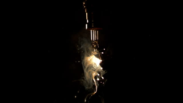 light bulb shattering, high-speed footage - broken stock videos & royalty-free footage