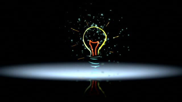 light bulb - ideas stock videos & royalty-free footage